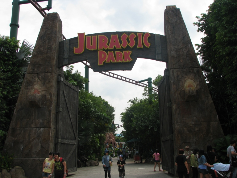 The fifth faction in the Universal Studios, Singapore